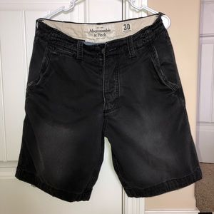 Abercrombie and Fitch Gray Shorts